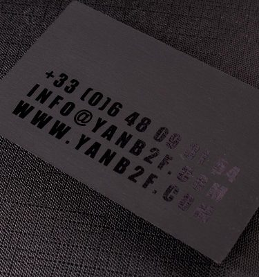 2-sided Spot UV Business Cards 1 | Luxury Printing