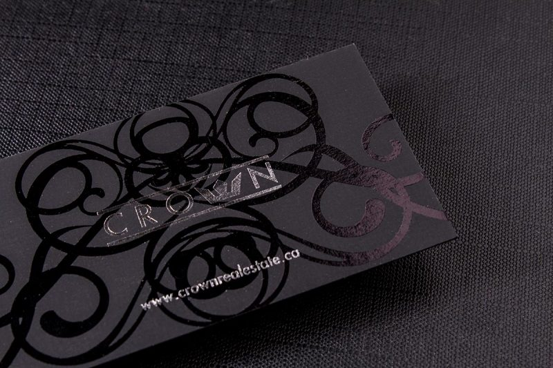 2-sided Spot UV Business Cards 2 | Luxury Printing