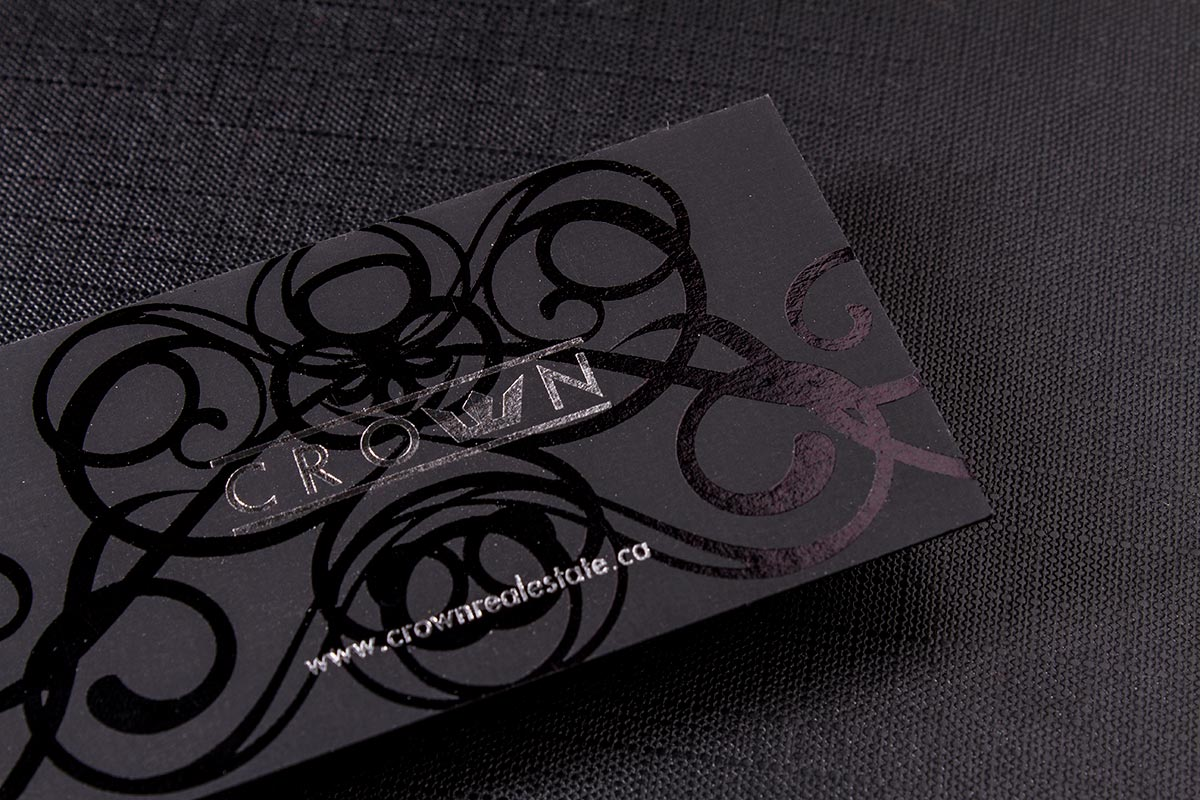 2-sided Spot UV Business Cards