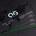 2-sided Spot UV Business Cards | Luxury Printing