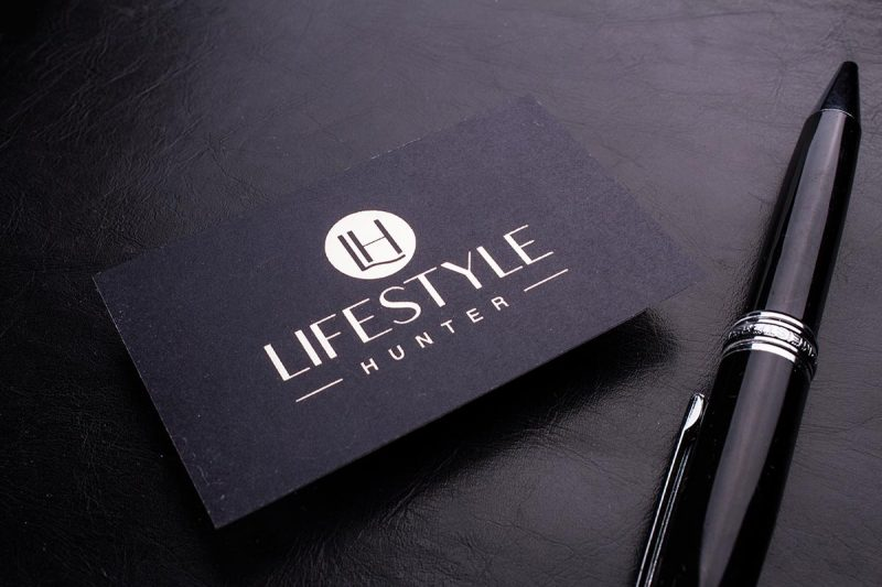 Black Business Cards 3.5x2 | Luxury Printing