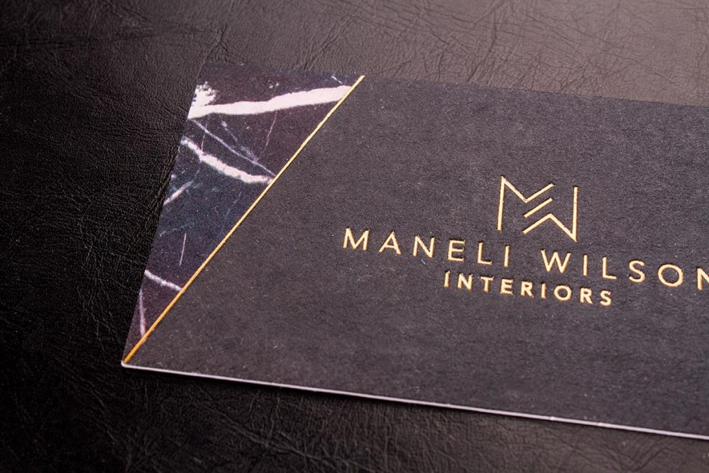Black Business Cards | Luxury Printing