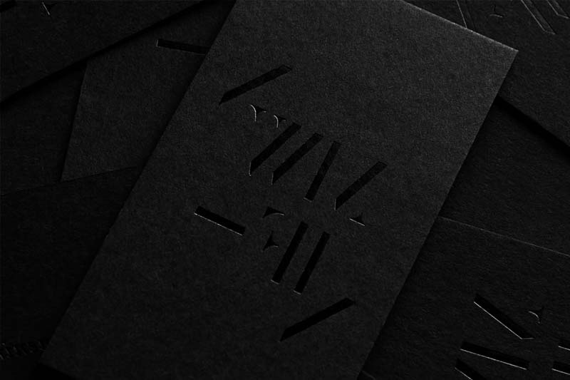 Black Card Stock | Luxury Printing