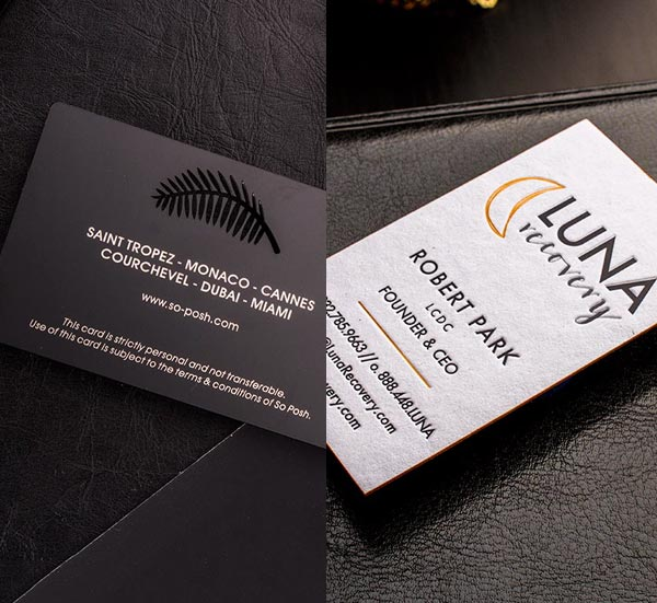 Business Card Design Package | Luxury Printing