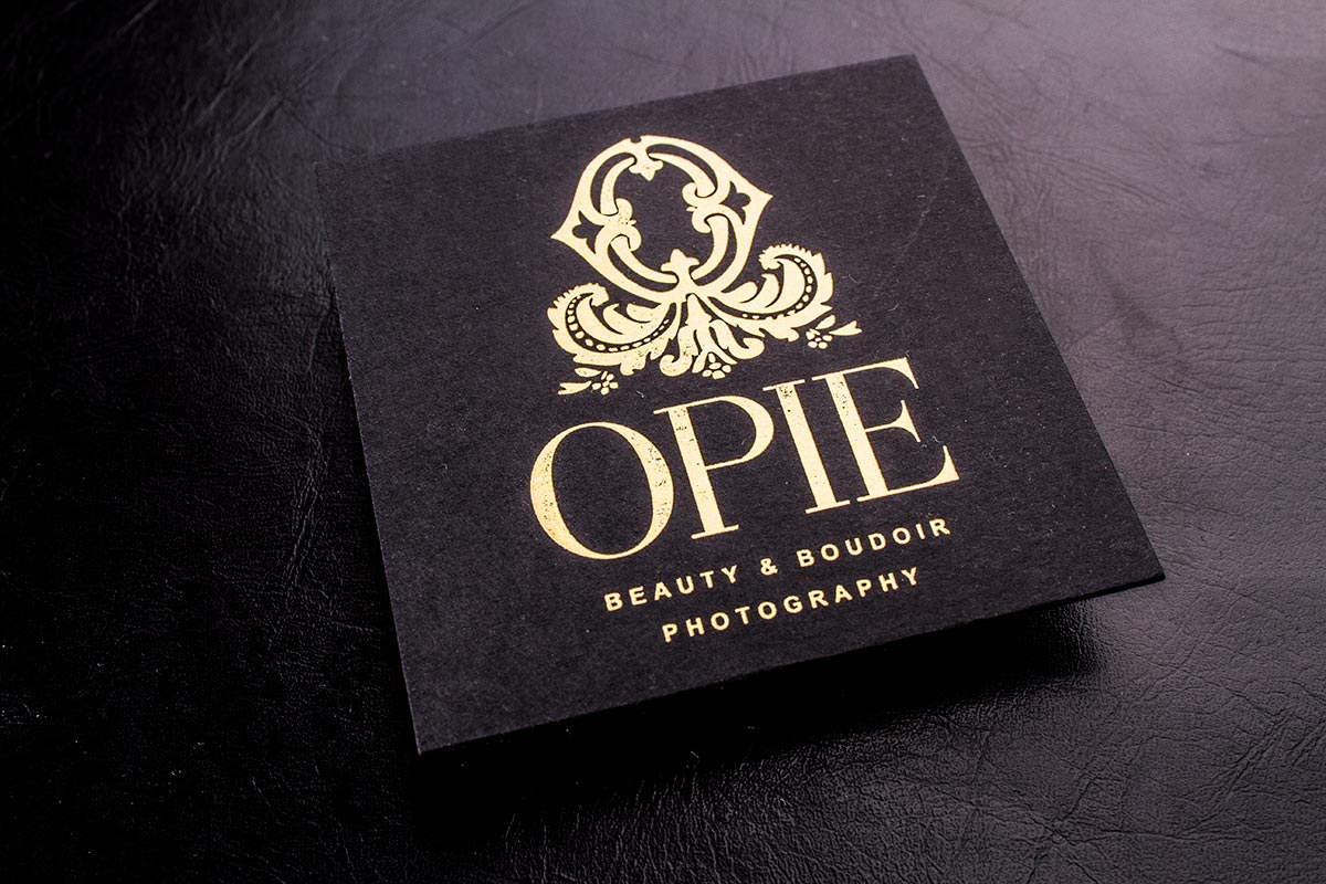 Luxury Business Cards Square | Luxury Printing