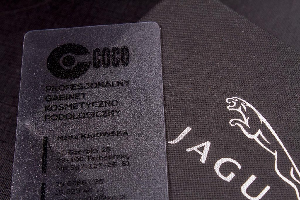 Clear Plastic Business Cards Printing | Luxury Printing