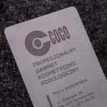 Clear Plastic Business Cards 3.5x2 | Luxury Printing