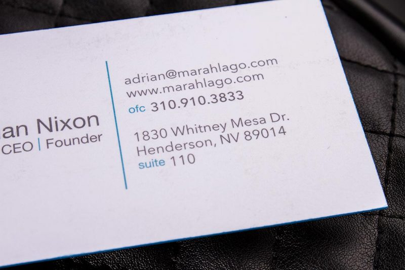 Duplex Business Card | Luxury Printing