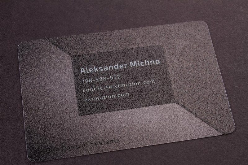 Plastic Business Cards PVC | Luxury Printing