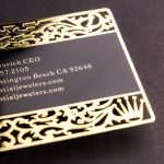 Gold Business Card New York | Luxury Printing