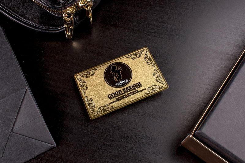 Gold Luxury Business Card 3.5x2 | Luxury Printing