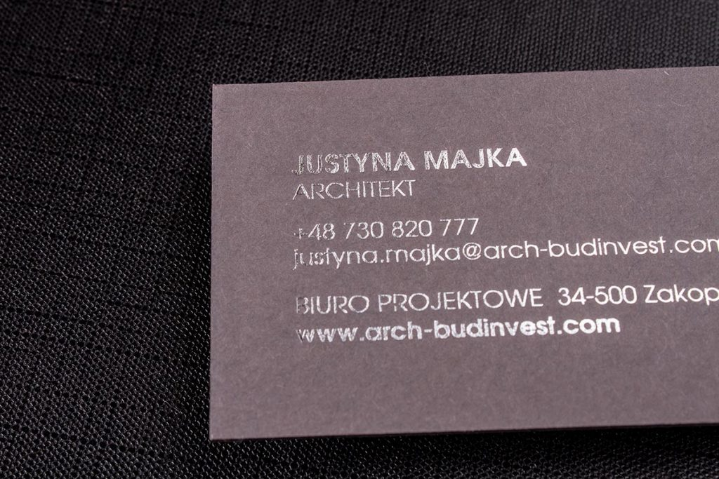 Grey Business Cards 3.5x2.5 | Luxury Printing
