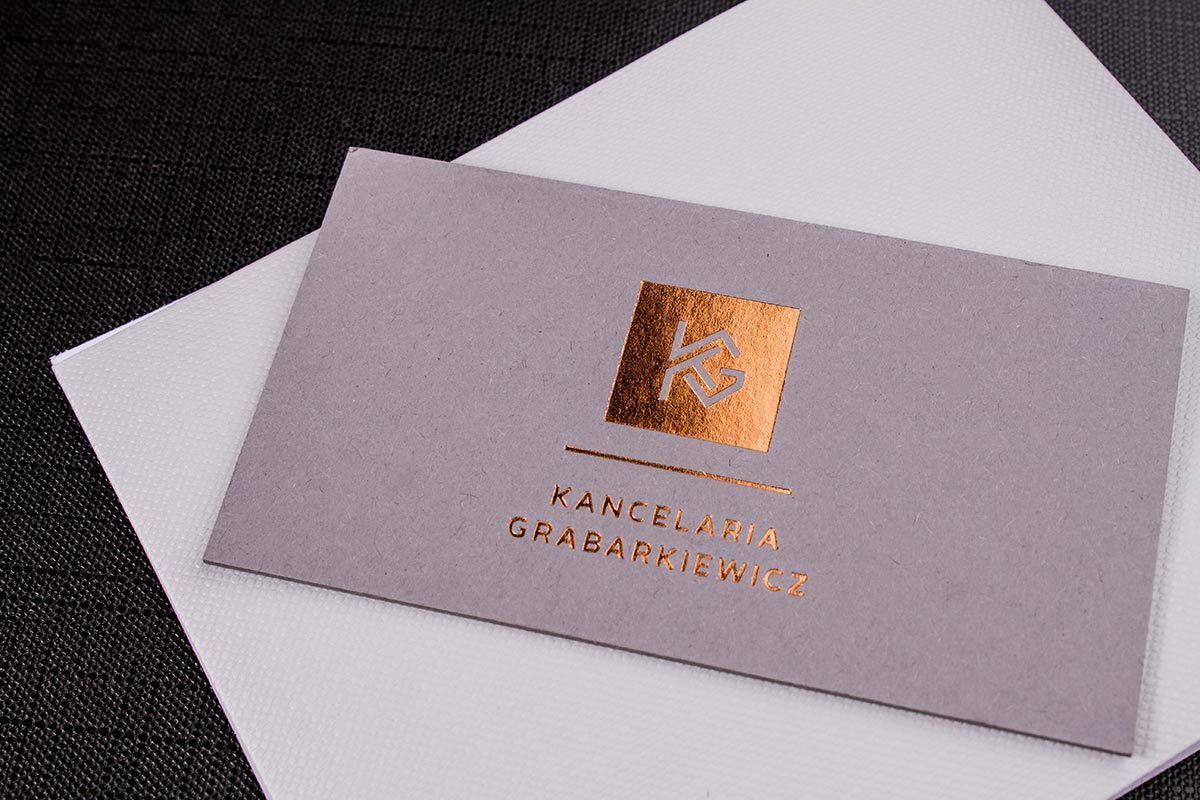Gray Business Cards | Luxury Printing