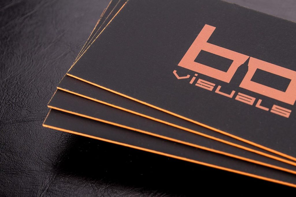 Hard Suede Business Cards 2 | Luxury Printing