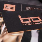 Hard Suede Business Cards 3 | Luxury Printing