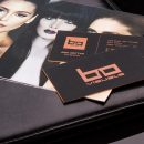 Hard Suede Business Cards Printing | Luxury Printing