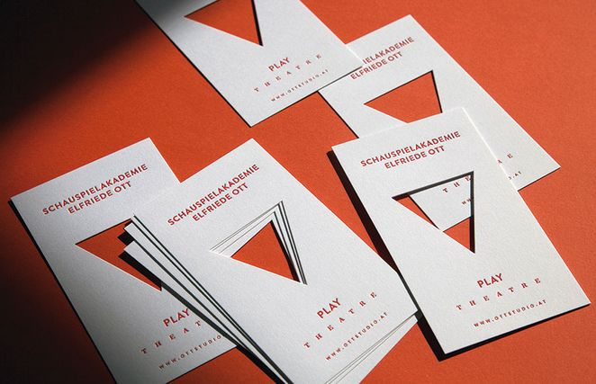 Letterpress Business Cards Inspiration | Die Cutting | Luxury Printing
