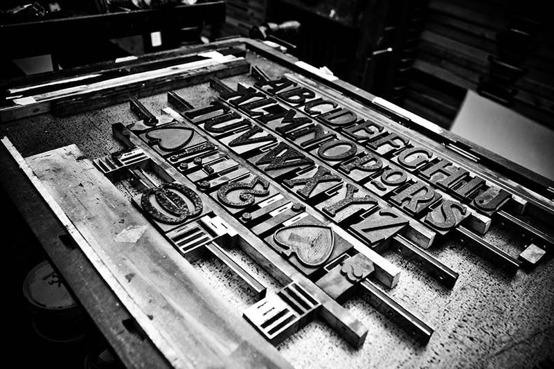 Letterpress Stamps | Luxury Printing