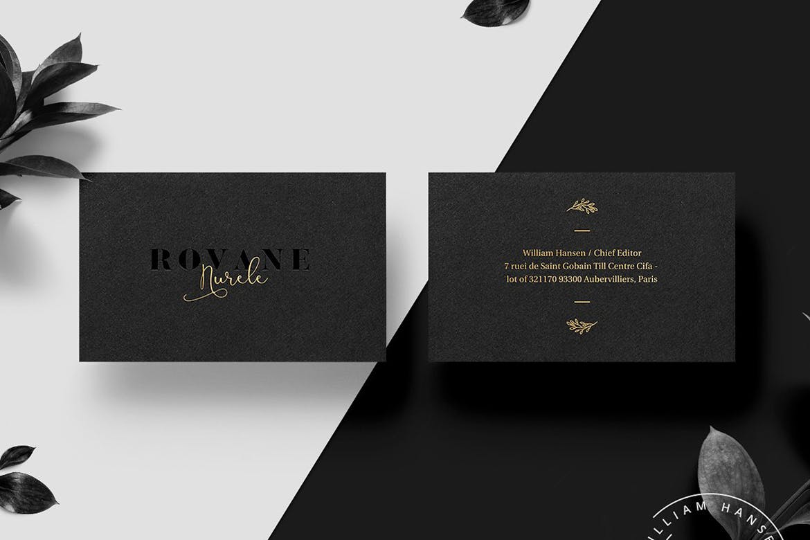 Matte Black Business Cards | Luxury Printing