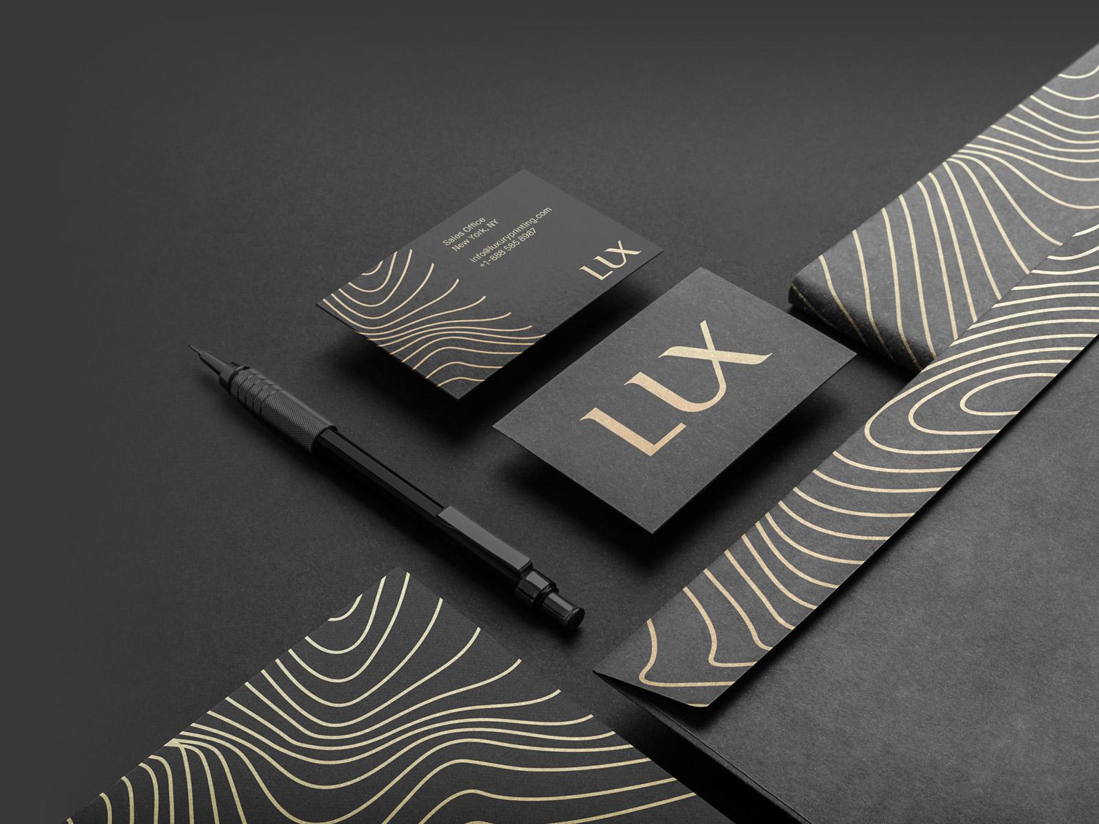 Luxury Business Cards   Luxury Printing NYC