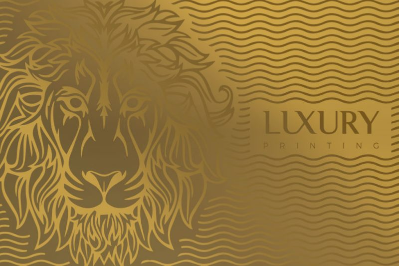Luxury Gold Business Card | Luxury Printing