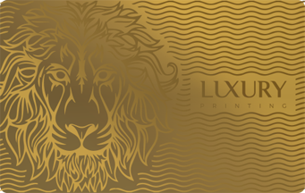 Luxury Card Gold | Luxury Printing