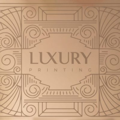 Luxury Card Rose Gold | Luxury Printing
