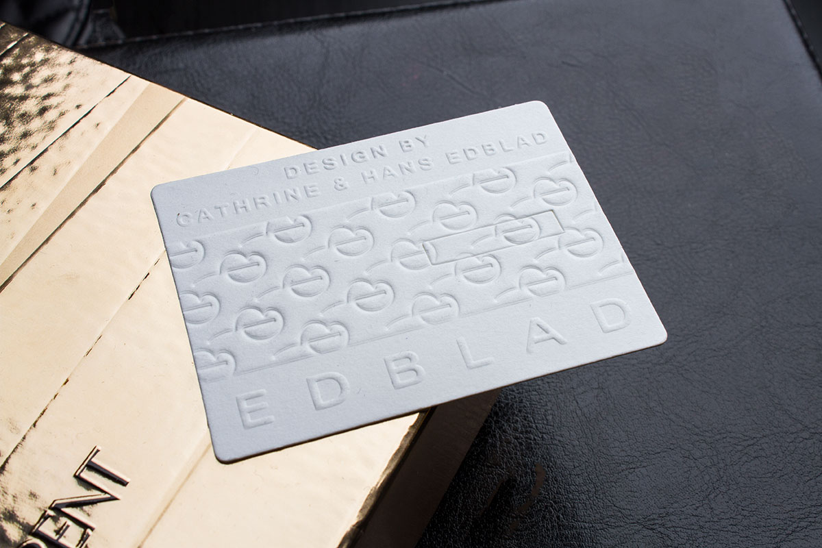 Embossed Luxury Business Cards