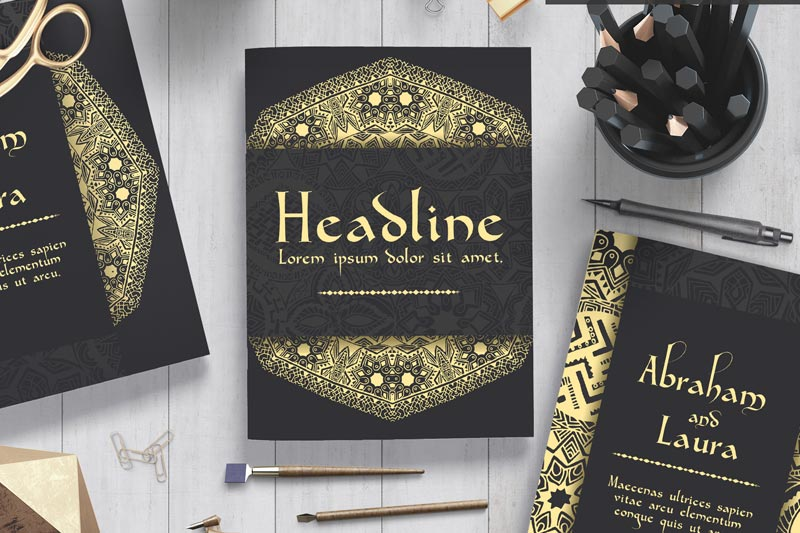 Luxury Gold Flyers | Luxury Printing