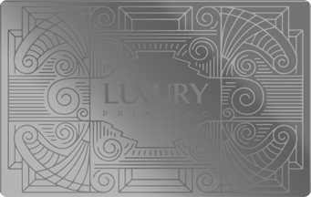 Luxury Card Stainless Steel | Luxury Printing
