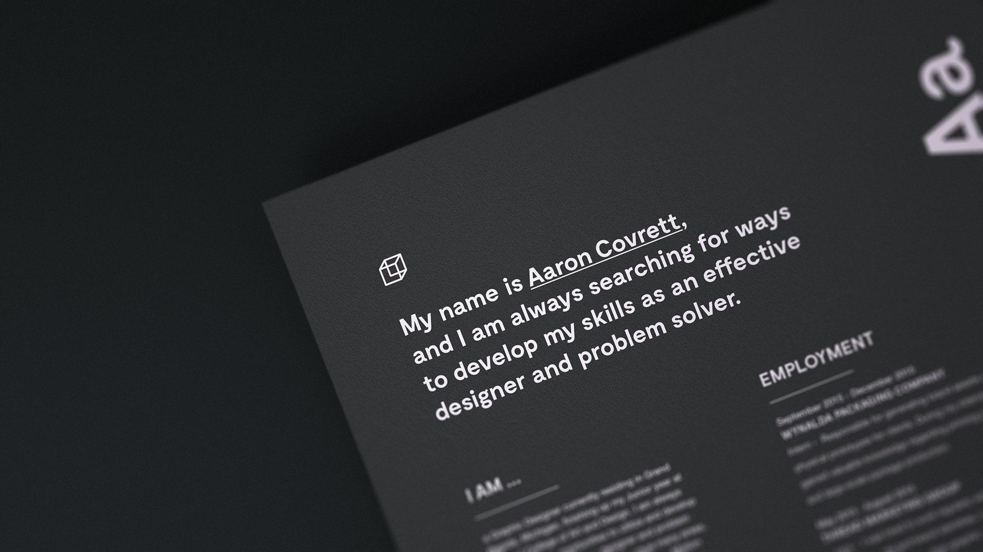 Minimal Letterhead | Luxury Printing