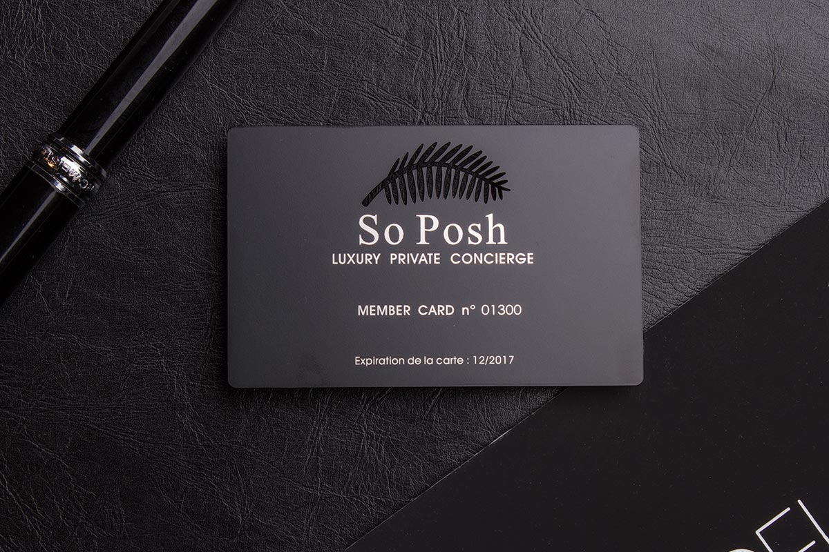 Luxury Business Card Finishes | Luxury Printing, New York