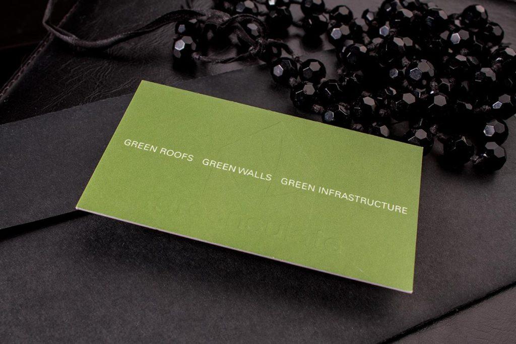 Natural Cream Business Card Dubai | Luxury Printing