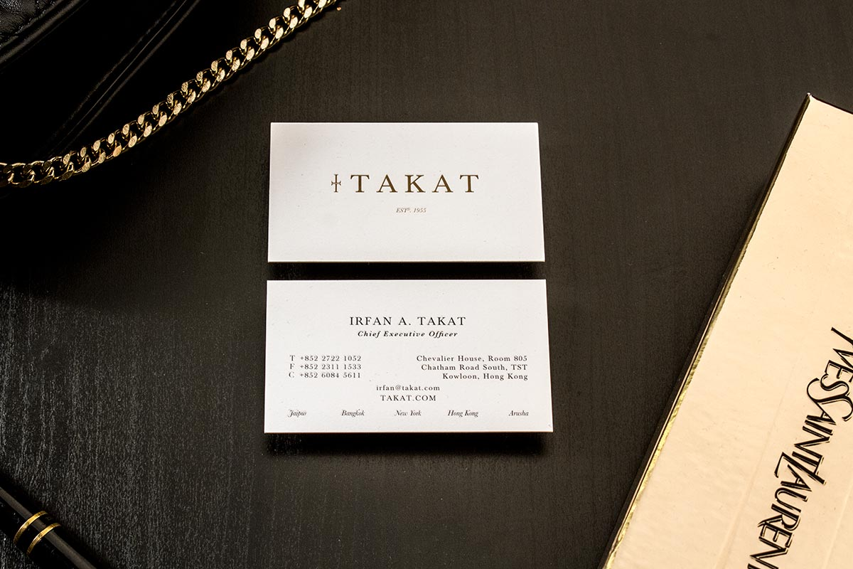 Natural Cream Uncoated Business Cards | Luxury Printing