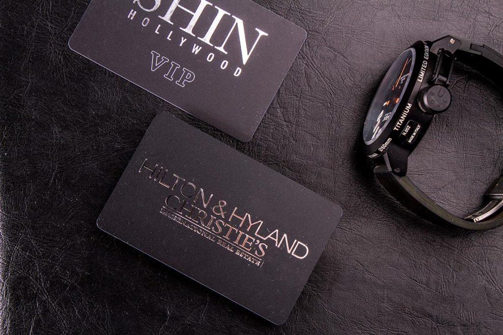 Plastic Business Cards 3.5x2 | Luxury Printing