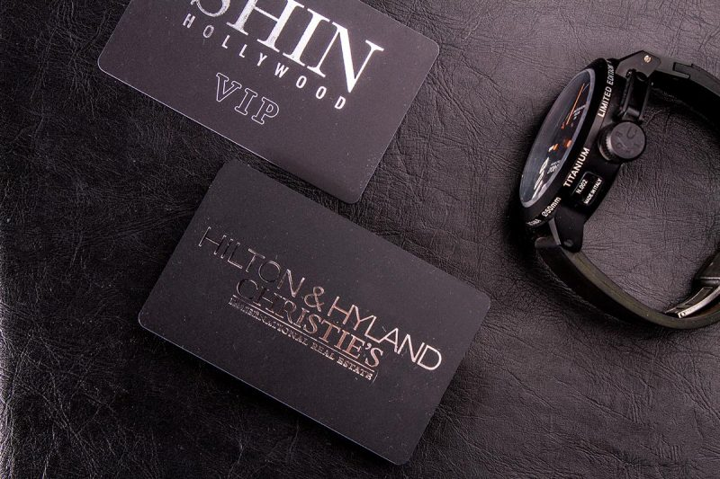 Plastic Business Cards 3.5x2 | Luxury Printing