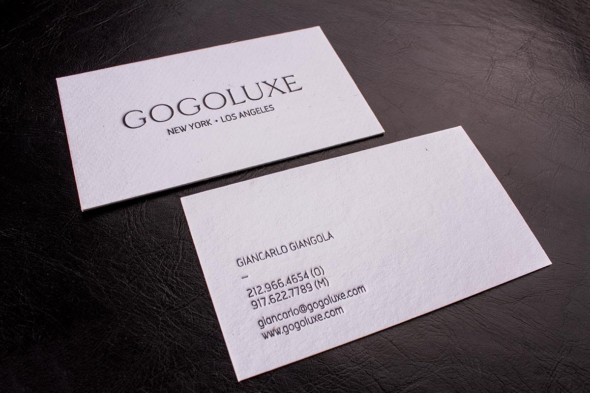 Premium Uncoated Business Cards | Luxury Printing