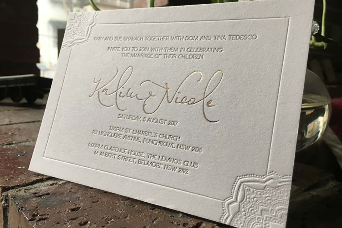 Invitations | Printed by Luxury Printing