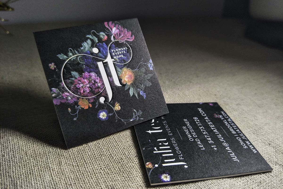 Custom Business Cards | Printed by Luxury Printing