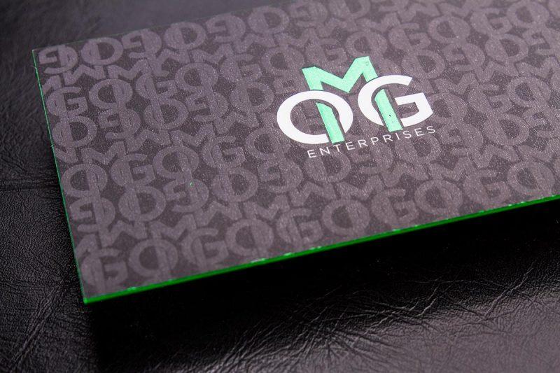 Spot UV Business Cards Graphics   Luxury Printing