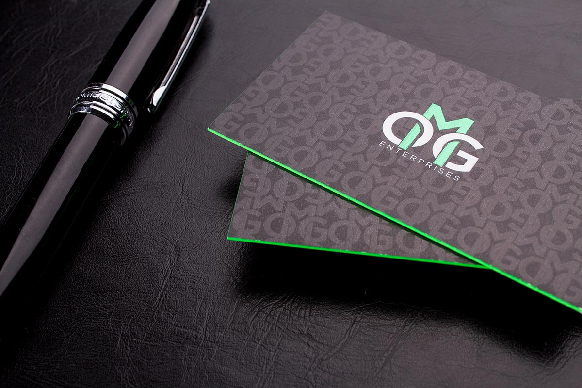 2 Sided Spot UV Business Cards | Luxury Printing