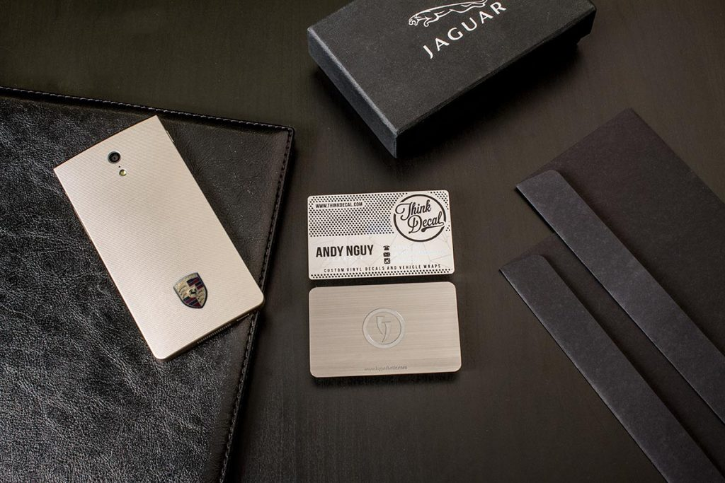 Stainless Steel Business Cards Best Designs | Luxury Printing