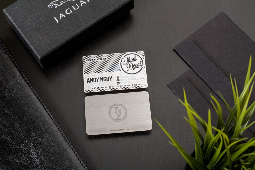 Stainless Steel Business Cards Designs | Luxury Printing