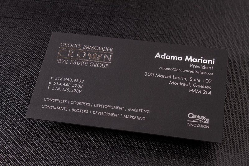 Suede Business Cards Printing | Luxury Printing