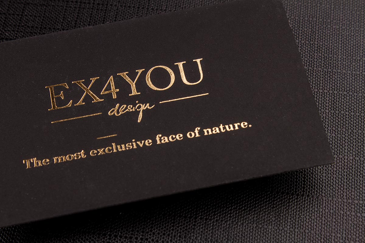 Luxury Printing Suede Business Cards 3.5x2