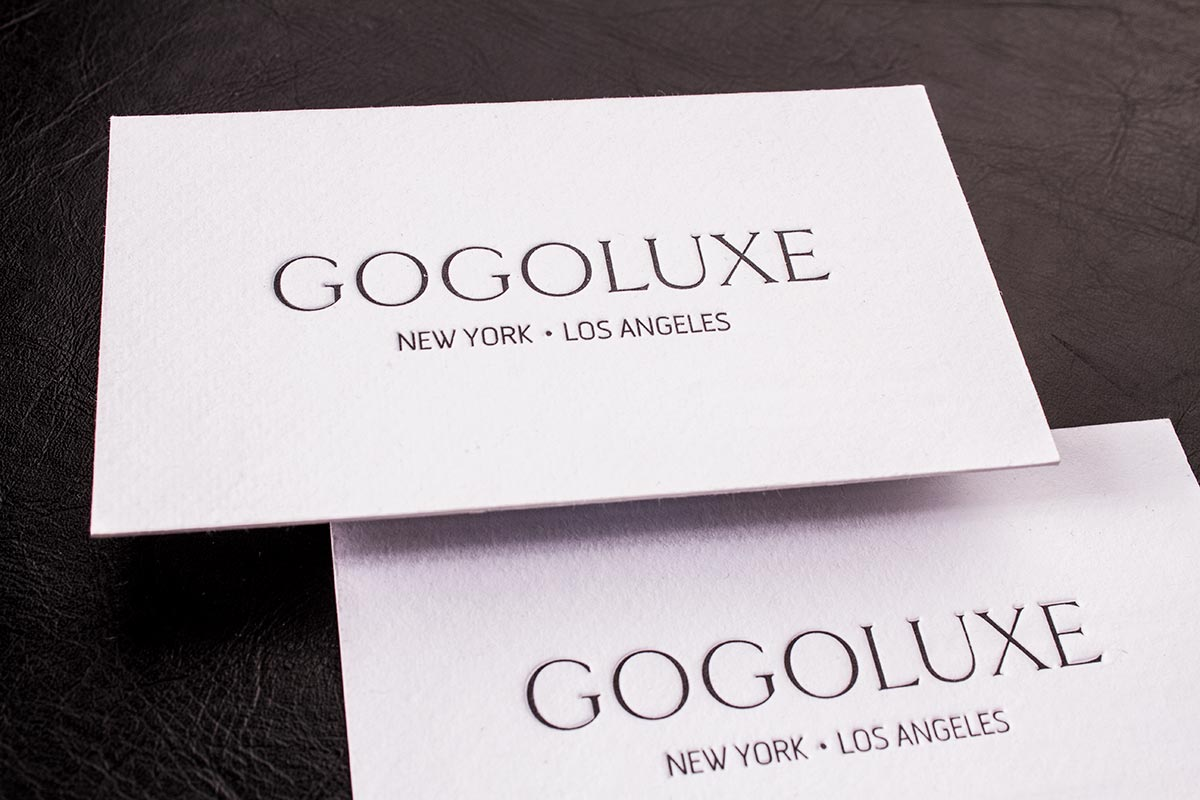 Letterpress Business Cards Printing | Luxury Printing